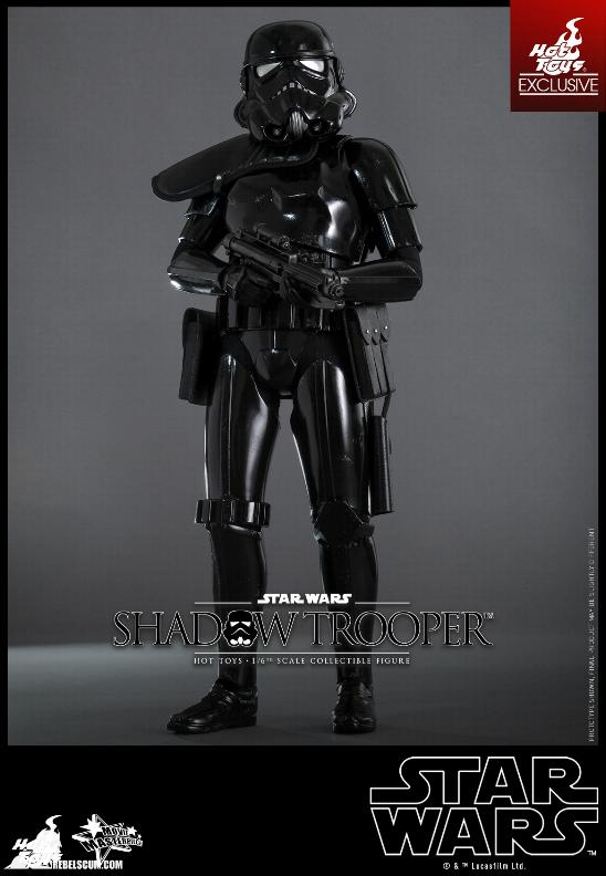 Hot Toys Star Wars - 1/6th Scale Shadow Trooper Figure Hot-to16