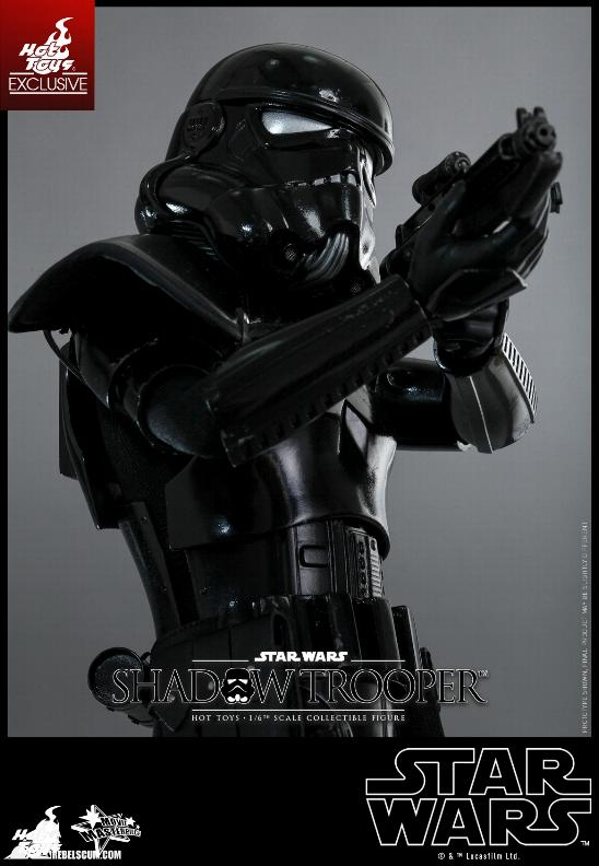 Hot Toys Star Wars - 1/6th Scale Shadow Trooper Figure Hot-to17
