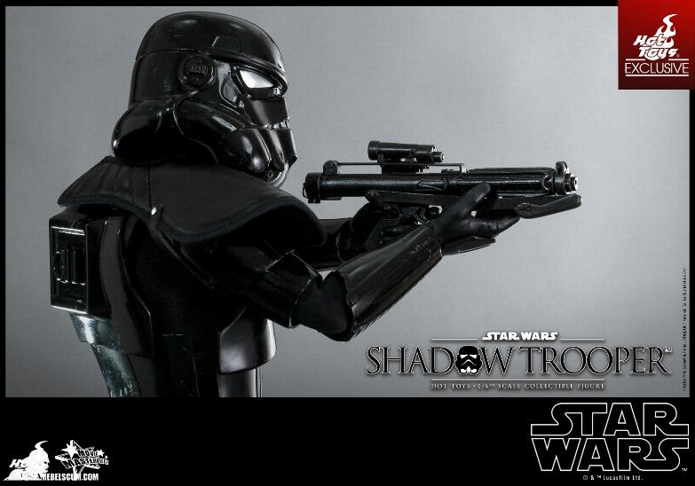 Hot Toys Star Wars - 1/6th Scale Shadow Trooper Figure Hot-to18