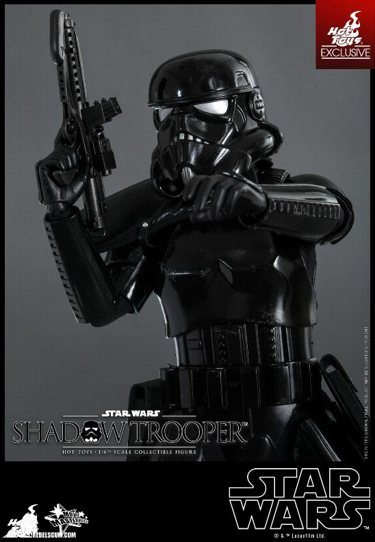 Hot Toys Star Wars - 1/6th Scale Shadow Trooper Figure Hot-to19