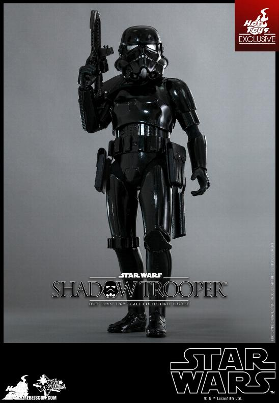 Hot Toys Star Wars - 1/6th Scale Shadow Trooper Figure Hot-to20