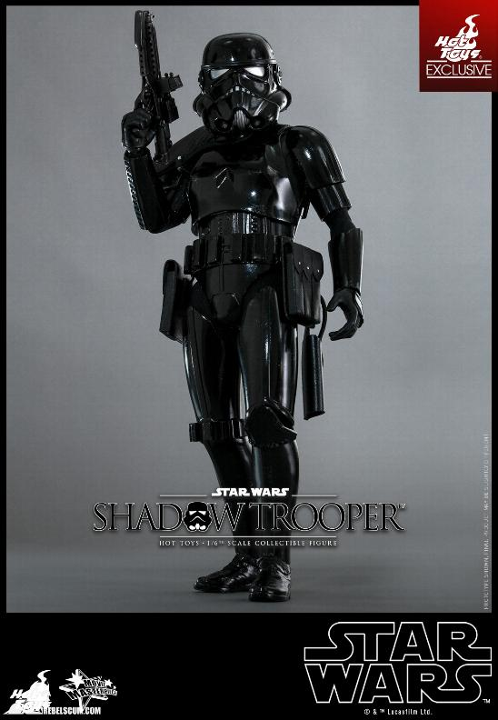 Hot Toys Star Wars - 1/6th Scale Shadow Trooper Figure Hot-to21