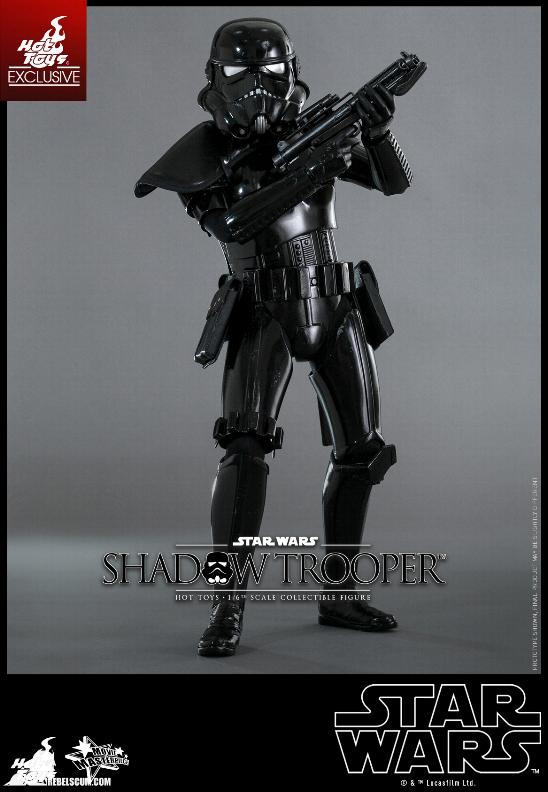 Hot Toys Star Wars - 1/6th Scale Shadow Trooper Figure Hot-to22