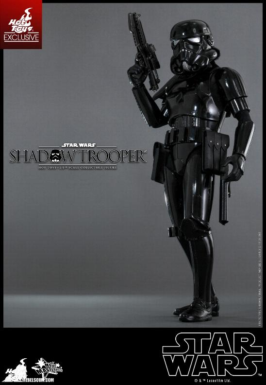 Hot Toys Star Wars - 1/6th Scale Shadow Trooper Figure Hot-to23