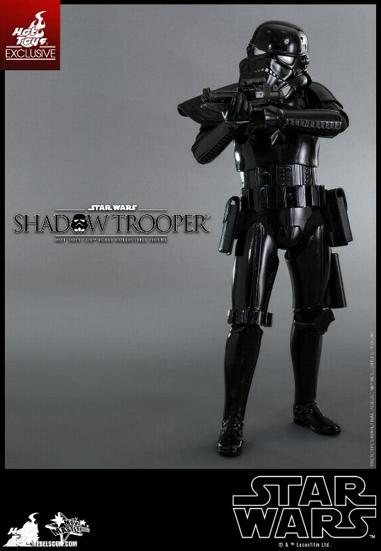 Hot Toys Star Wars - 1/6th Scale Shadow Trooper Figure Hot-to25