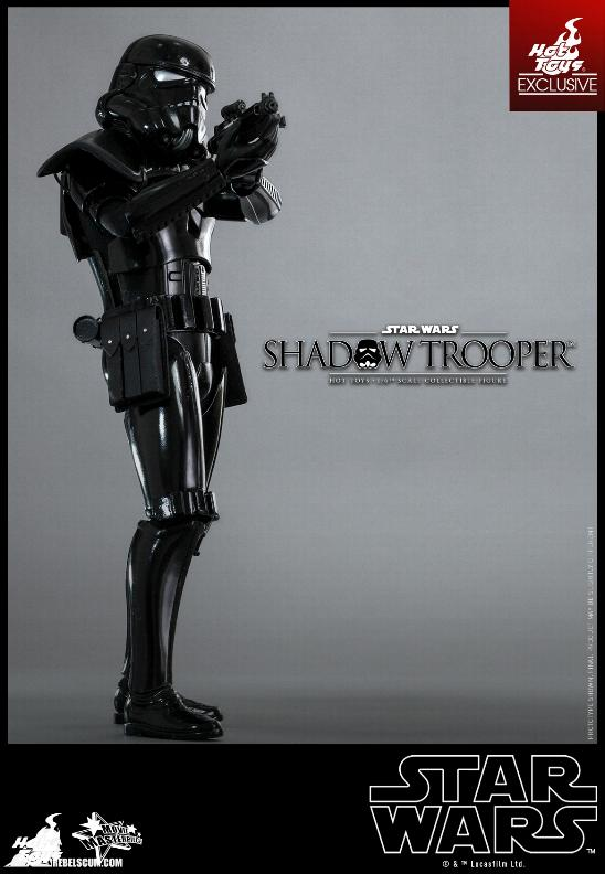 Hot Toys Star Wars - 1/6th Scale Shadow Trooper Figure Hot-to26