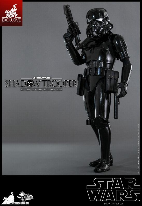 Hot Toys Star Wars - 1/6th Scale Shadow Trooper Figure Hot-to27