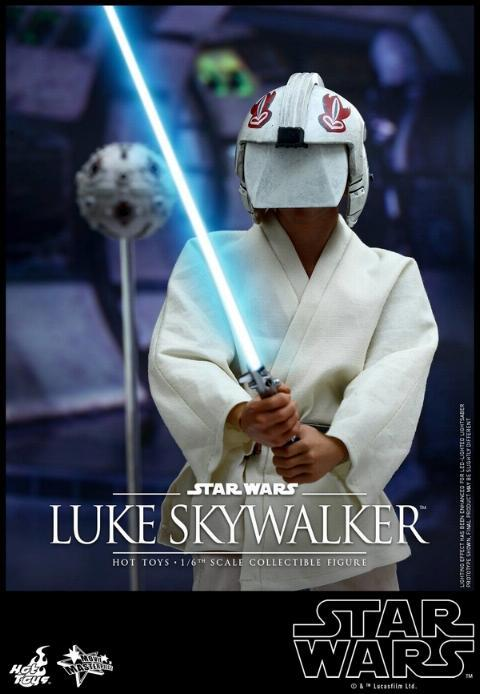 Hot Toys Star Wars EP4 1/6th Luke Skywalker Figure  Hot_to11