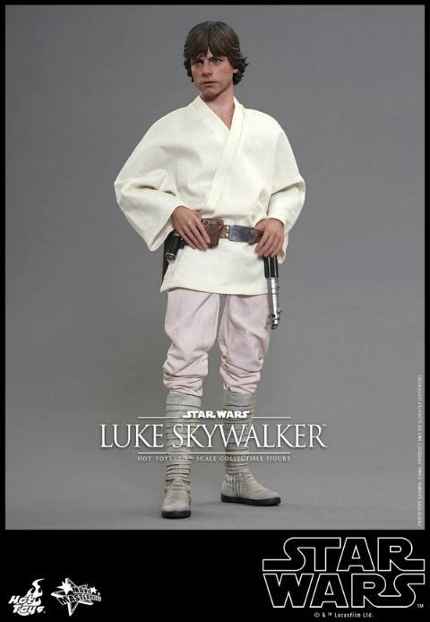 Hot Toys Star Wars EP4 1/6th Luke Skywalker Figure  Hot_to12