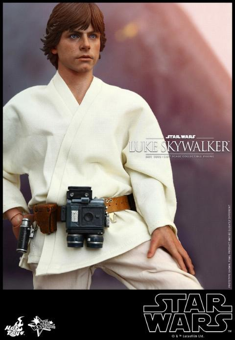 Hot Toys Star Wars EP4 1/6th Luke Skywalker Figure  Hot_to13