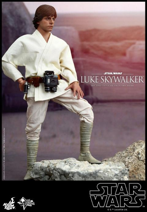 Hot Toys Star Wars EP4 1/6th Luke Skywalker Figure  Hot_to14