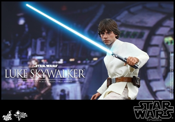 Hot Toys Star Wars EP4 1/6th Luke Skywalker Figure  Hot_to15