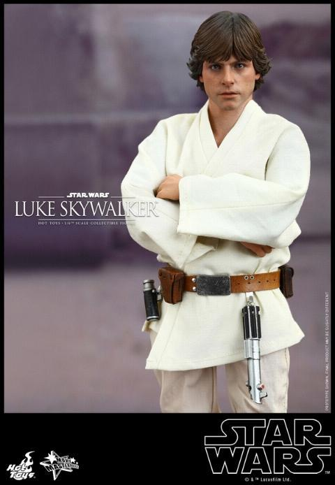 Hot Toys Star Wars EP4 1/6th Luke Skywalker Figure  Hot_to17
