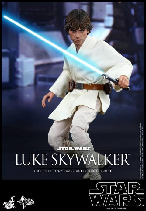 Hot Toys Star Wars EP4 1/6th Luke Skywalker Figure  Hot_to18