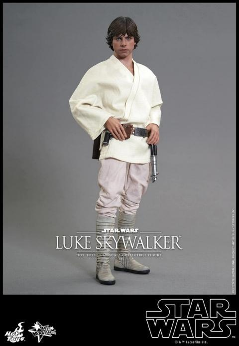 Hot Toys Star Wars EP4 1/6th Luke Skywalker Figure  Hot_to19