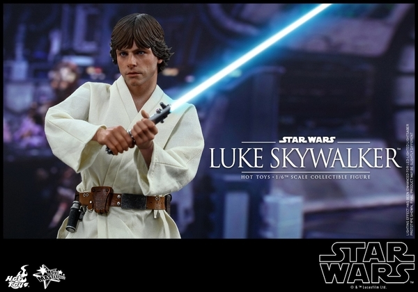 Hot Toys Star Wars EP4 1/6th Luke Skywalker Figure  Hot_to22