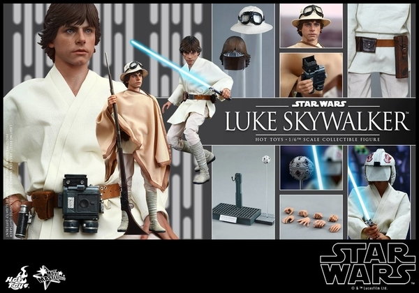 Hot Toys Star Wars EP4 1/6th Luke Skywalker Figure  Hot_to24