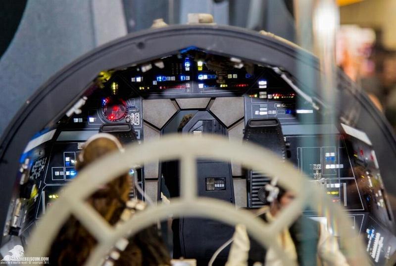 Hot Toys 1/6 Scale Millenium Falcon Cockpit Ht_co013