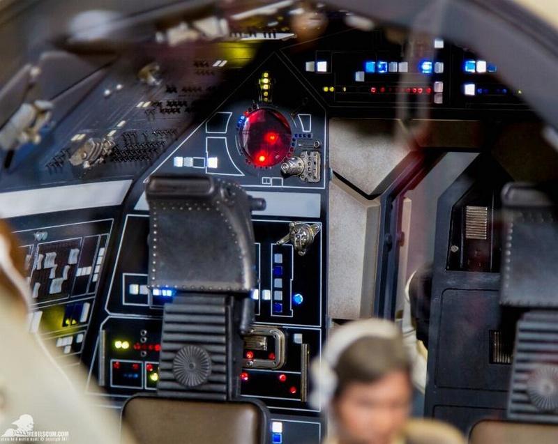 Hot Toys 1/6 Scale Millenium Falcon Cockpit Ht_co014