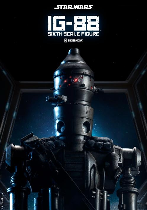 Sideshow Collectibles - IG-88 Sixth Scale Figure  Ig88_011