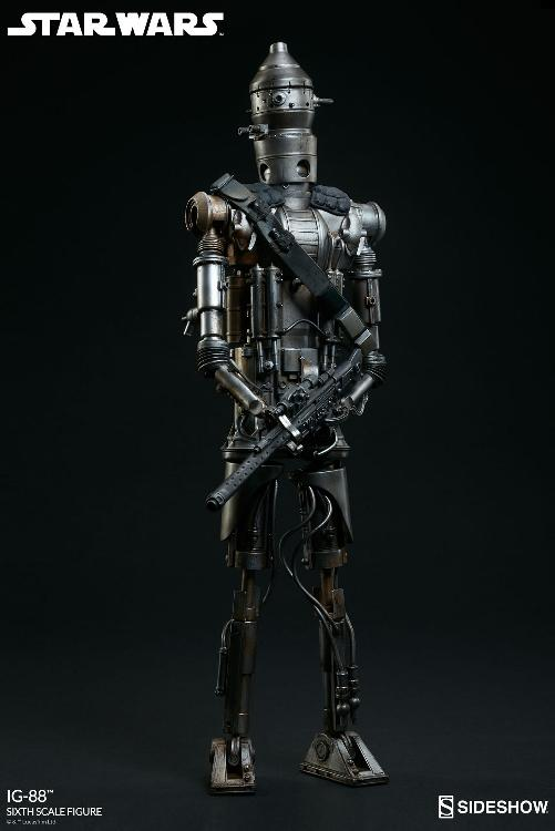 Sideshow Collectibles - IG-88 Sixth Scale Figure  Ig88_012