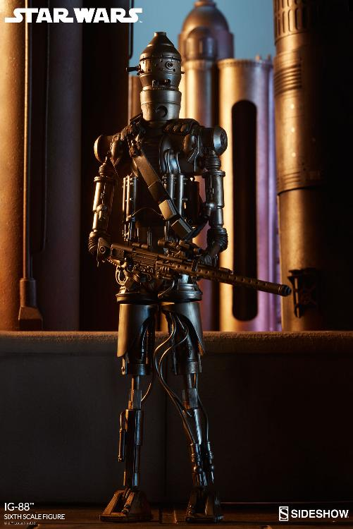 Sideshow Collectibles - IG-88 Sixth Scale Figure  Ig88_013