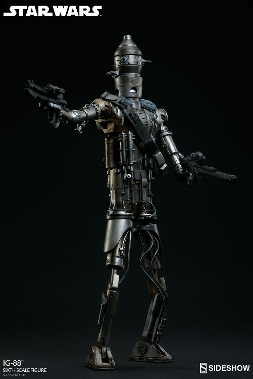 Sideshow Collectibles - IG-88 Sixth Scale Figure  Ig88_014
