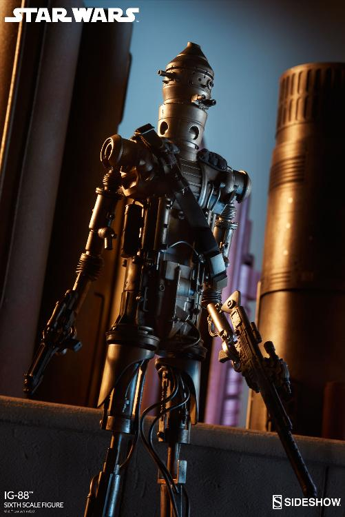Sideshow Collectibles - IG-88 Sixth Scale Figure  Ig88_015