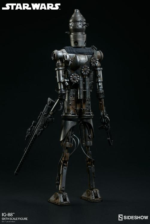Sideshow Collectibles - IG-88 Sixth Scale Figure  Ig88_016