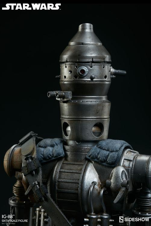 Sideshow Collectibles - IG-88 Sixth Scale Figure  Ig88_017