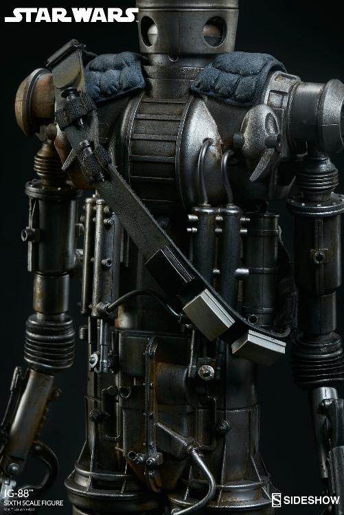 Sideshow Collectibles - IG-88 Sixth Scale Figure  Ig88_019