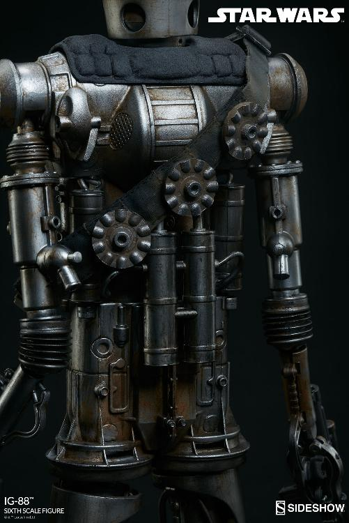 Sideshow Collectibles - IG-88 Sixth Scale Figure  Ig88_020