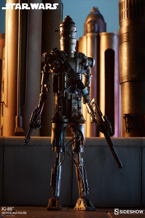 Sideshow Collectibles - IG-88 Sixth Scale Figure  Ig88_021