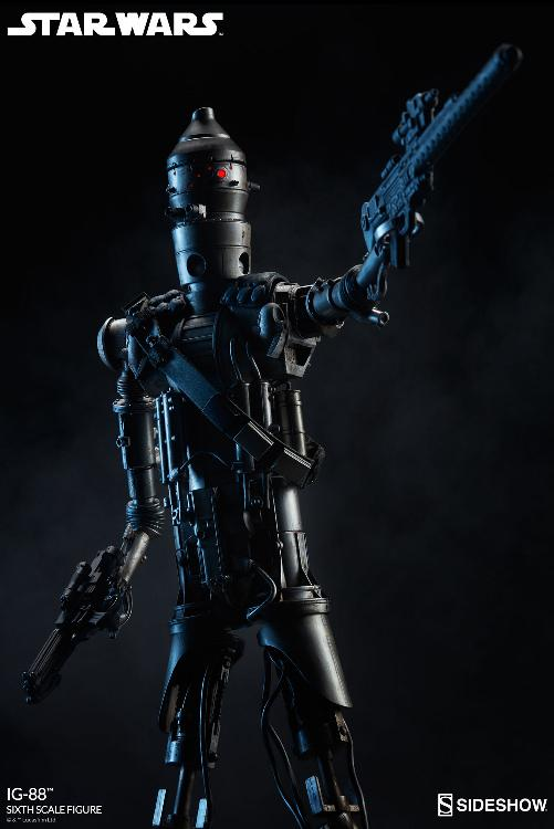 Sideshow Collectibles - IG-88 Sixth Scale Figure  Ig88_022