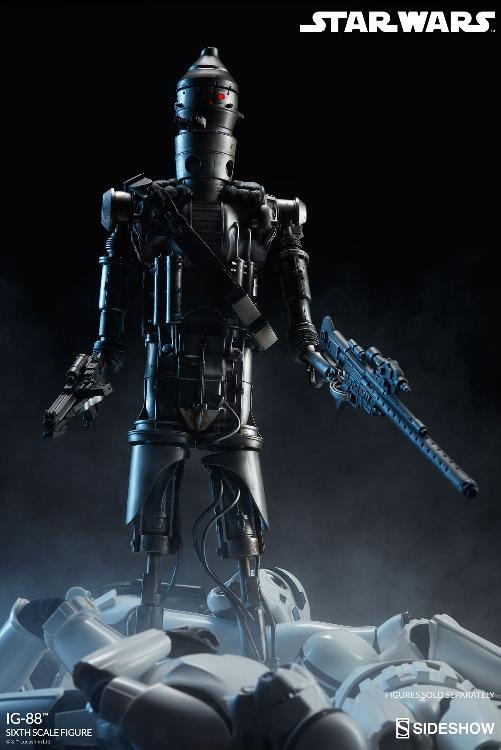 Sideshow Collectibles - IG-88 Sixth Scale Figure  Ig88_024