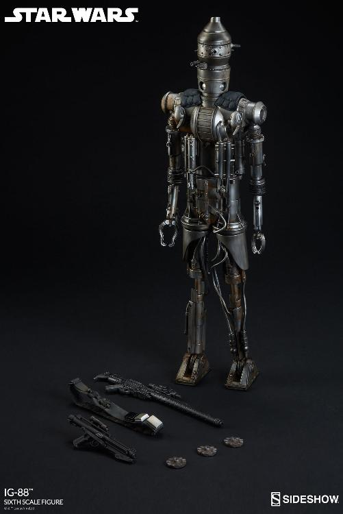 Sideshow Collectibles - IG-88 Sixth Scale Figure  Ig88_025