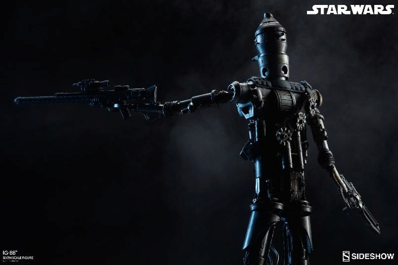Sideshow Collectibles - IG-88 Sixth Scale Figure  Ig88_026