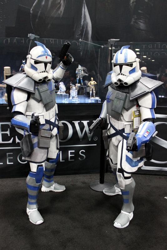 Sideshow Arc Clone Troopers Echo & Fives Sixth Scale Figures Img_0513