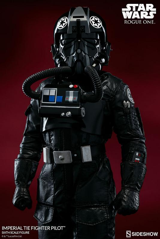 Sideshow ROGUE ONE - TIE Pilot Sixth Scale Figure Imperi12