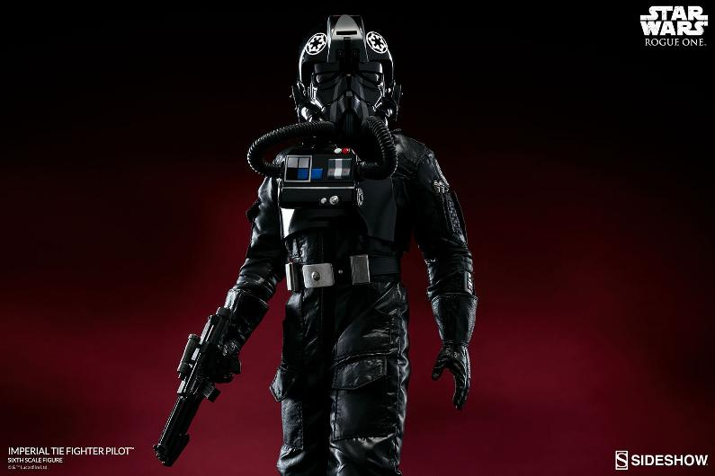 Sideshow ROGUE ONE - TIE Pilot Sixth Scale Figure Imperi13