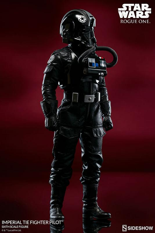 Sideshow ROGUE ONE - TIE Pilot Sixth Scale Figure Imperi14