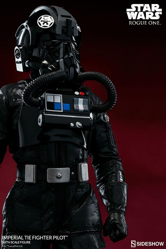 Sideshow ROGUE ONE - TIE Pilot Sixth Scale Figure Imperi15