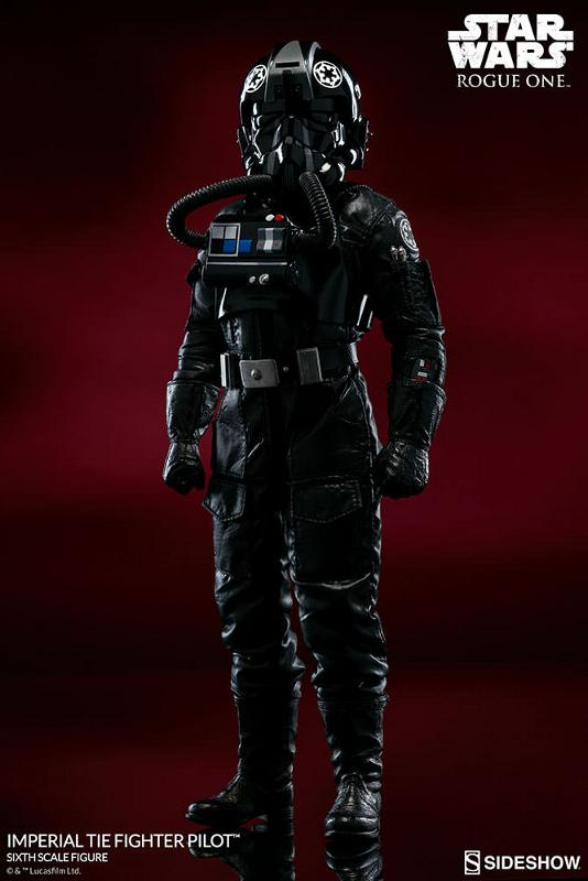 Sideshow ROGUE ONE - TIE Pilot Sixth Scale Figure Imperi16