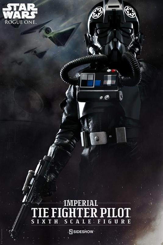Sideshow ROGUE ONE - TIE Pilot Sixth Scale Figure Imperi17