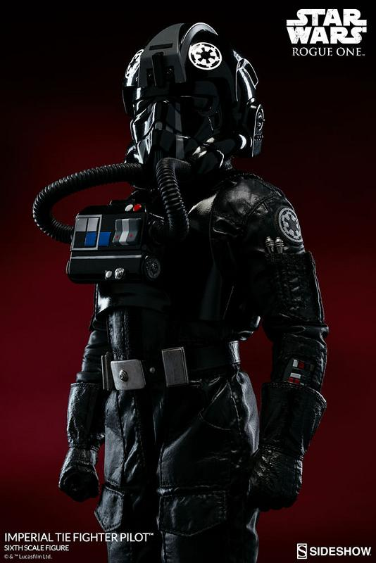 Sideshow ROGUE ONE - TIE Pilot Sixth Scale Figure Imperi18