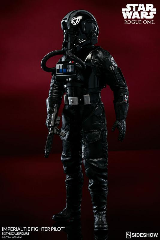 Sideshow ROGUE ONE - TIE Pilot Sixth Scale Figure Imperi20