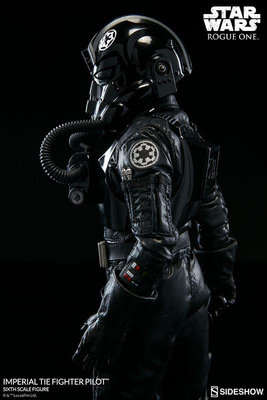 Sideshow ROGUE ONE - TIE Pilot Sixth Scale Figure Imperi23
