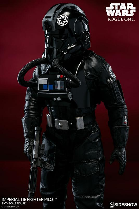 Sideshow ROGUE ONE - TIE Pilot Sixth Scale Figure Imperi24