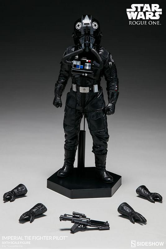 Sideshow ROGUE ONE - TIE Pilot Sixth Scale Figure Imperi26