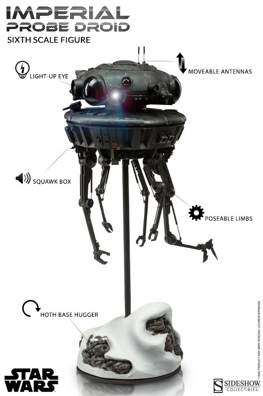 Sideshow - Imperial Probe Droid Sixth Scale Figure   Imperi33